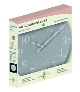 Smart Westminster Duck Egg Wall Clock 5160012