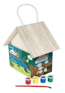 Gardman Paint Your Own Wden Feeder Fsc A01909