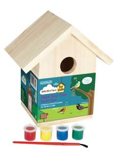 Gardman Paint Yoru Own Nest Box Fsc A01910