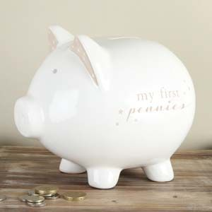 WIDDOP Bambino Pig Money Bank
