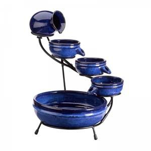 Ceramic Neptunes Solar Water Feature 1180130Rl