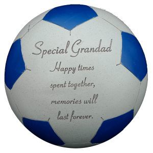 Fischhoff Grandad Blue Memorial Football DF14029