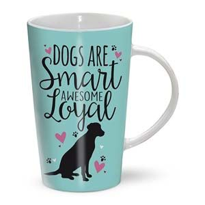 Otter House Ltd Latte Mug - Dogs Are Ref: 73522