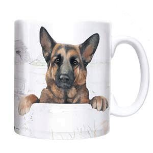 Otter House Ltd Chunky Mug - German Shepherd Ref: 73928
