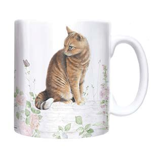 Otter House Ltd Chunky Mug - Ginger Cat Ref: 73938