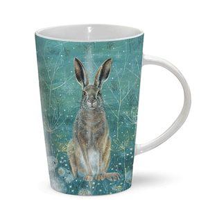 Otter House Ltd Latte Mug - Handsome Hare Ref: 73296