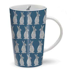 Otter House Ltd Rspb Dusk Til Dawn - Latte Mug - Hare Ref: 73904
