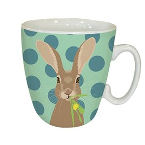 Otter House Ltd Standard Mug - Waggy Tails - Hare Ref: 73332