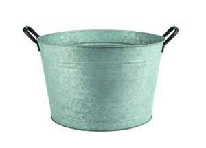 Premier Galvanised Flower Pot small PT183009