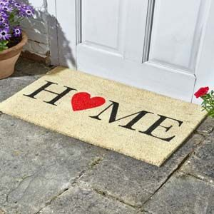Smart Garden Home Is Where The Heart Is Decoir Mat 75x45cm 5511021