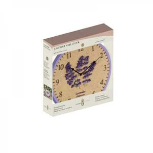 Smart Garden Lavender Wall Clock 12