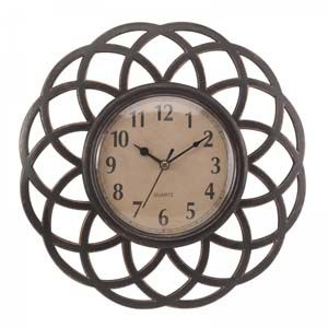 Smart Garden Triple Ascot Wall Clock, Frame and Mirror 5160010