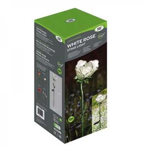 Smart Garden White rose Solar Light 1012537