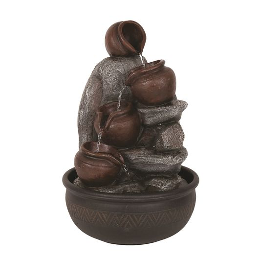 Straits Trading Co- Tilting Jug Water Feature 40cm Ref: 22069