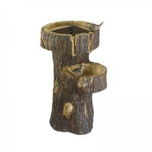 Tree Trunk Solar Water Feature 1160140Rl