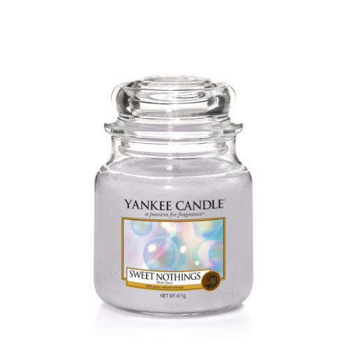 Yankee Candle Classic Medium Jar Sweet Nothings Ref: 1577135E