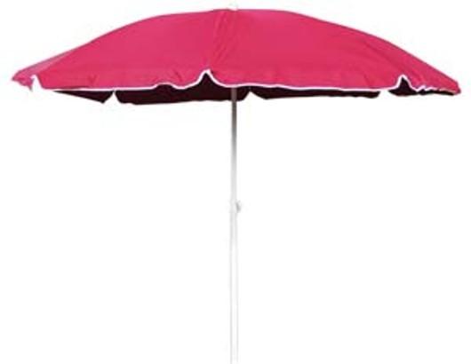 Beach Parasol 1.8m 329780 Pink