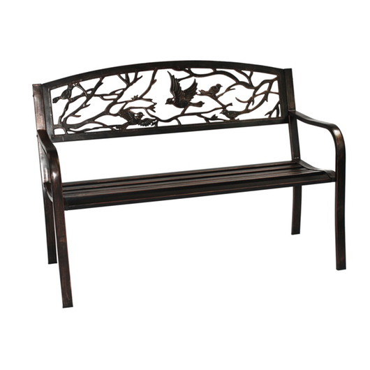 Bird Back Metal Bench
