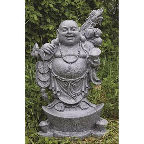 DaVinci Standing Granite Wealthy Buddah DVO-33BG