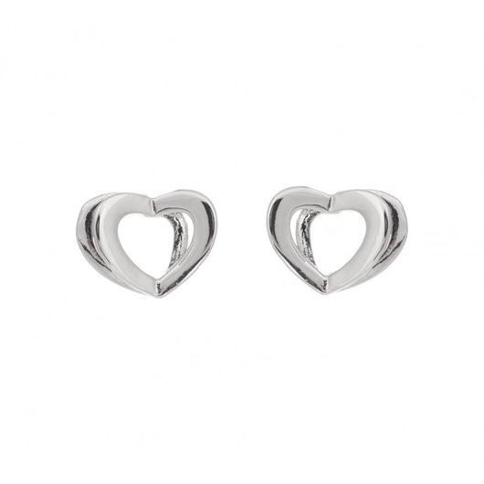 Double Heart Earrings 1898