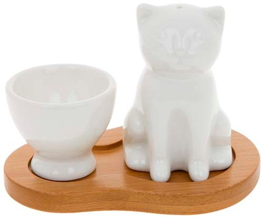 Egg Cup Cat Salt 55251