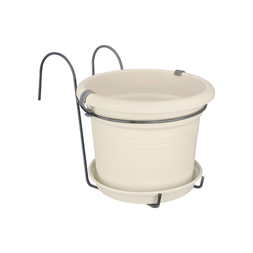 Elho Green Basics Pot Holder Balcony White