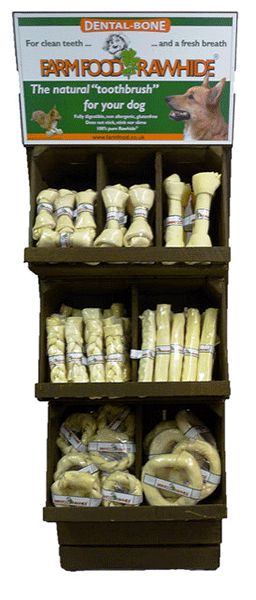 Farmfood Rawhide Dental Bone 4-5 15004