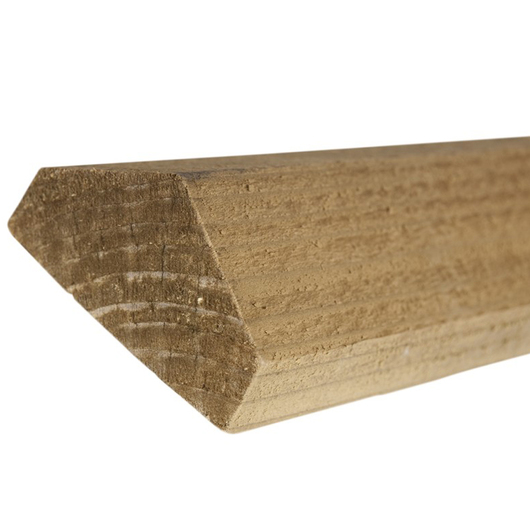 Treated Brown 15 x 45mm Fence Capping [FSC]
