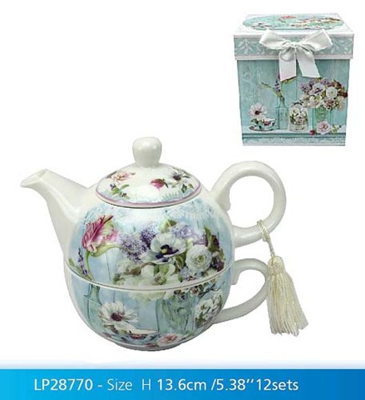 Flower Garden Tea For One Lp28770