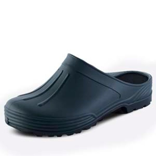 Garden Clogs Green-Navy - Size 8-9