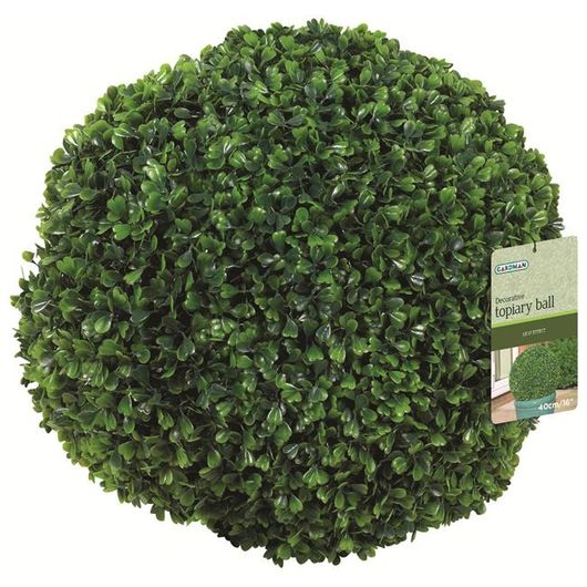 Gardman 15Cm Leaf Effect Topiary Ball - 02819