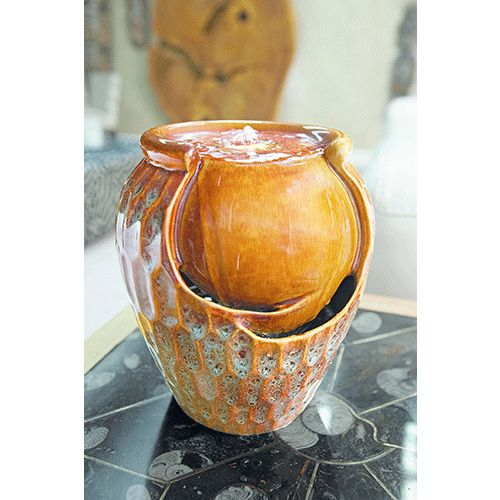Gardman Ceramic Jar Water Feature - 19088