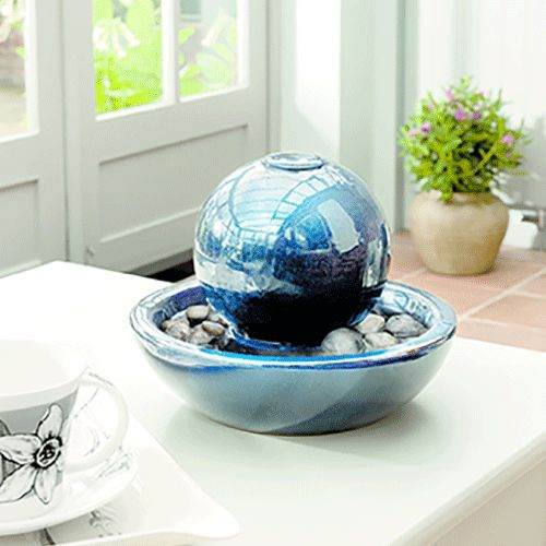 Gardman Ceramic Orb Water Feature - 19036