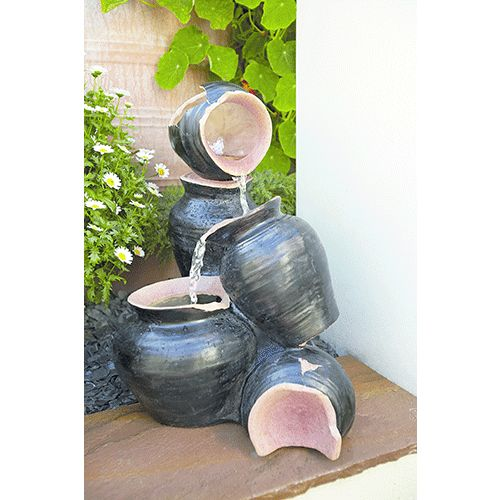 Gardman Cracked Pots Water Feature 19091