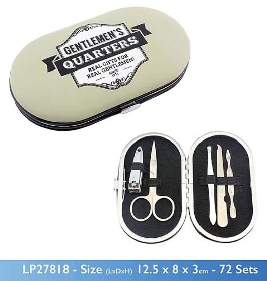 Gents Quarter Manicure Set Lp27818