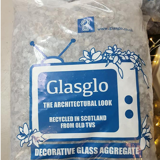 Glasglo Decorative Gravel 40mm Above 25kg Bag Large