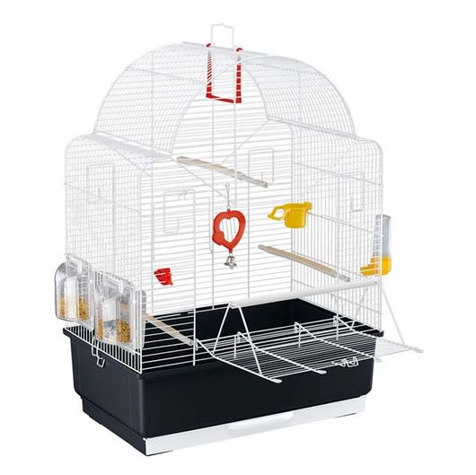 'Ibiza' Open White Bird Cage - 52021811