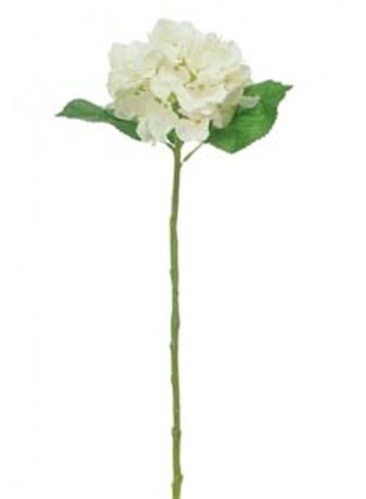 Silk Single Annabelle Hydrangea Ivory Ref 101360