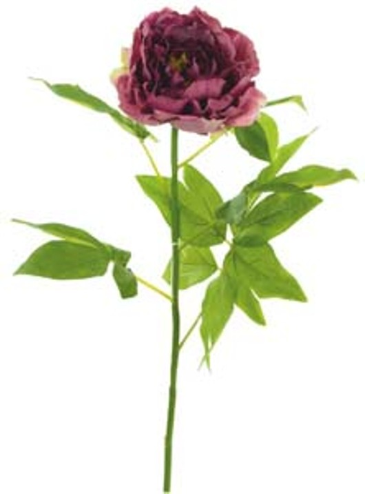 Silk Single Large Peony Blush Pink Ref 177096