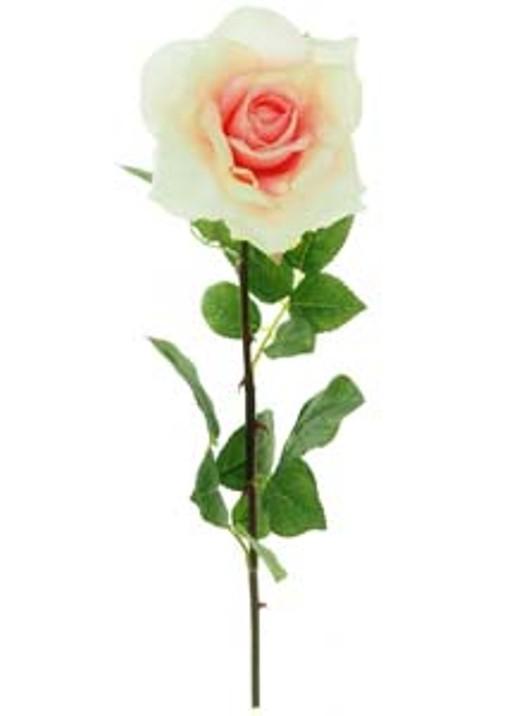 Silk Single Liberty Rose Stem Dusty Pink Ref 166112