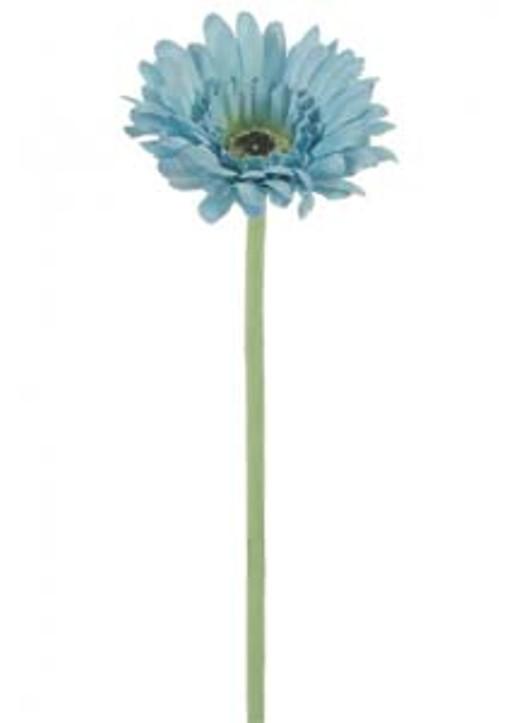 Silk Small Head Gerbera Royal Blue Ref 108221