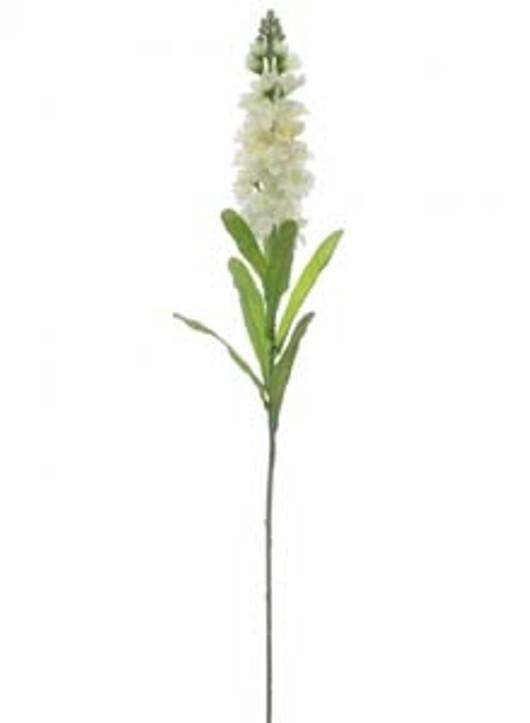 Silk Sml Stock Flower Ivory Ref 101061