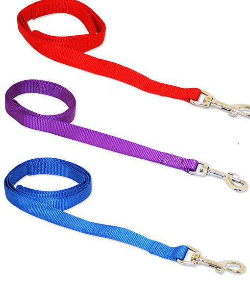 Nylon Lead 48 X 3-4 Asst Colours 0198