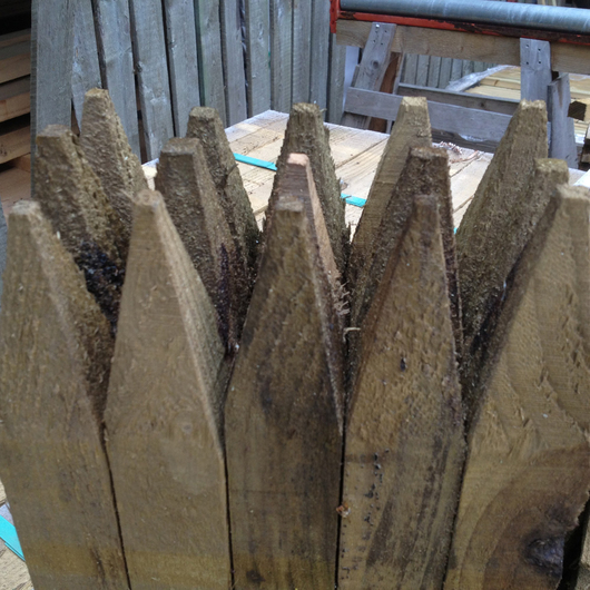 Pointed Pegs Treated 47x50 0.90m [FSC]