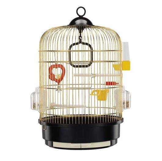 'Regina' Brass Bird Cage - 51049802