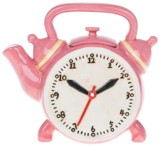 Retro Teapot Clock 61504