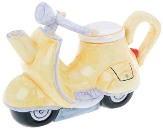 Retro Teapot Scooter 61503