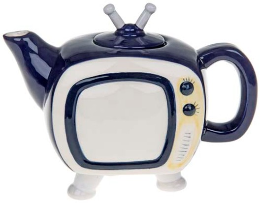 Retro Teapot Tv 61505