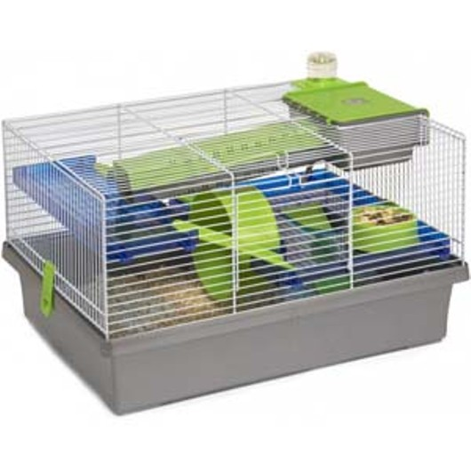 Rosewood Pico Hamster Cage - Silver 19172