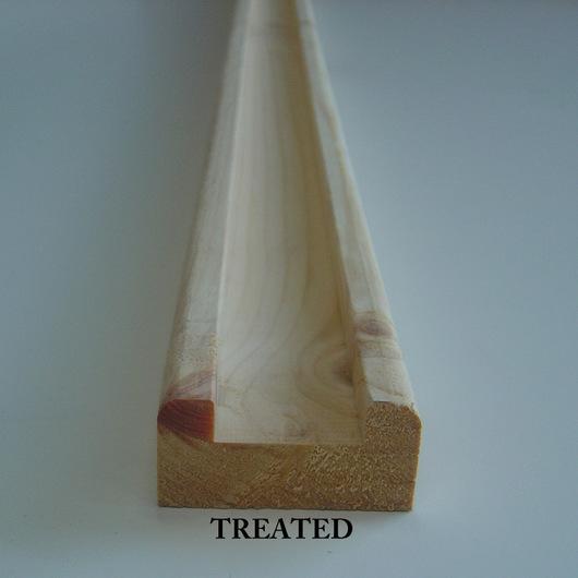 Redwood 63x32x41mm Baserail Tanalised [p]